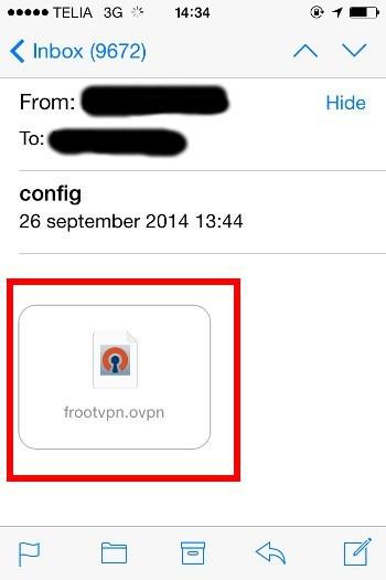 Best VPN OpenVPN for iPhone/iPad | FrootVPN Setup