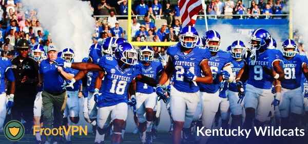 How to watch the Kentucky Wildcats football games without any restriction?