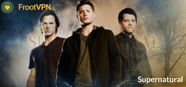 Watch the premiere of Supernatural Season 12 with FrootVPN!