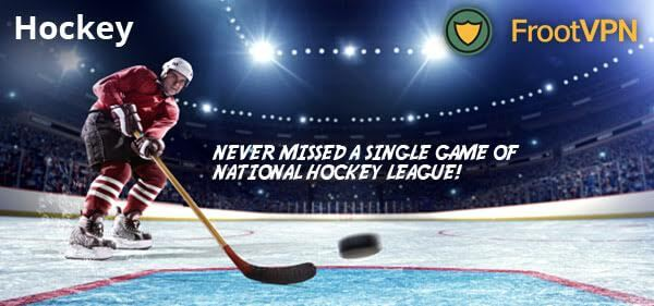Never missed a single game of NHL 2016-2017 with FrootVPN!